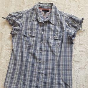 Cute Tommy Hilfiger Short Sleeve Button Down Shirt